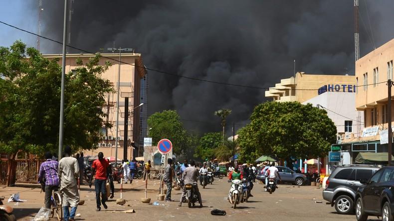 Attentat contre l'ambassade de France à Ouagadougou