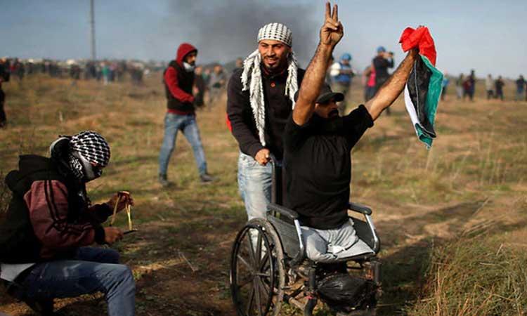 [Pallywood] Une enquête de la police militaire révèle que la personne handicapé du Hamas n'a pas été tué par Israël, silence radio de l'AFP