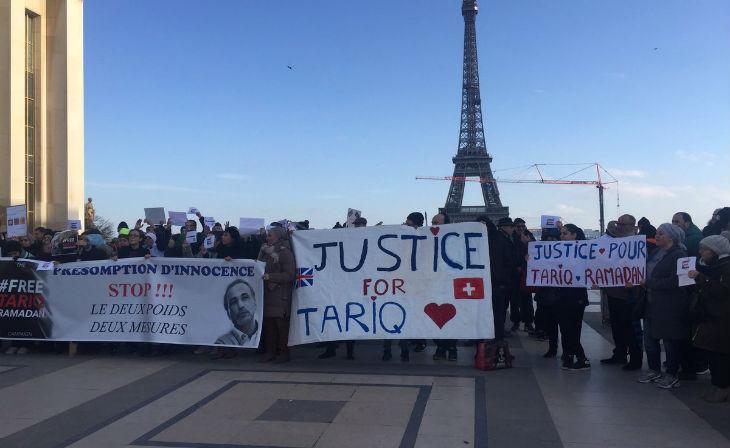 Rassemblement de soutien à Tariq Ramadan : «Nos parents musulmans ont construit la France et nos enfants arriveront au pouvoir inch'Allah»