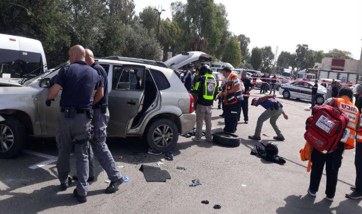 Israël : attentat à la voiture-bélier, le terroriste renverse trois personnes avant d'être neutralisé