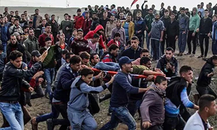 Les palestiniens préparent un «spectacle médiatique», budget 10 millions de dollars: l'invasion d'Israël