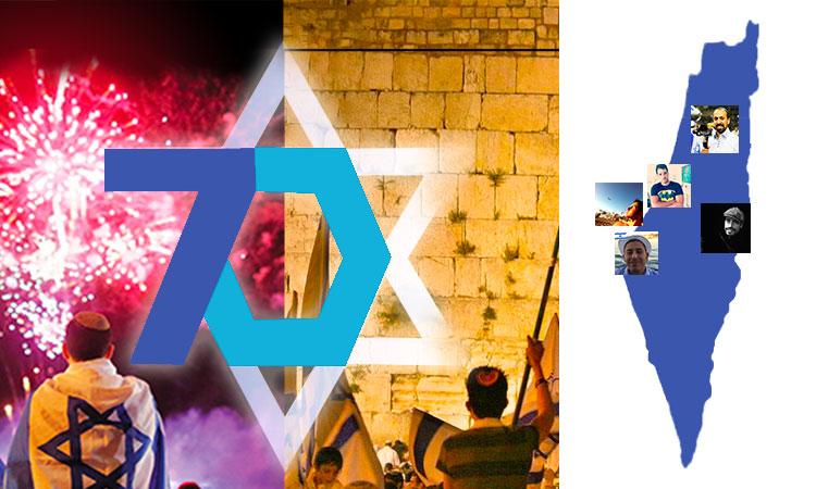 [Événement Video] Vivez en Live les 70 ans de l'Etat d'Israel sur notre page Facebook