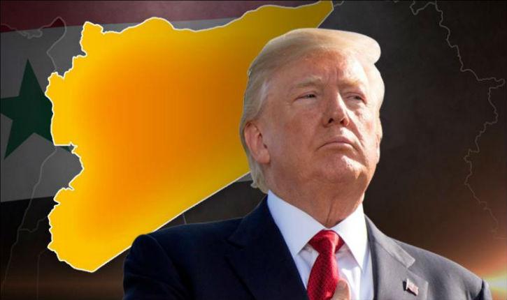 L'armée arabe syrienne, qui se croit encore capable, humiliée par Donald Trump