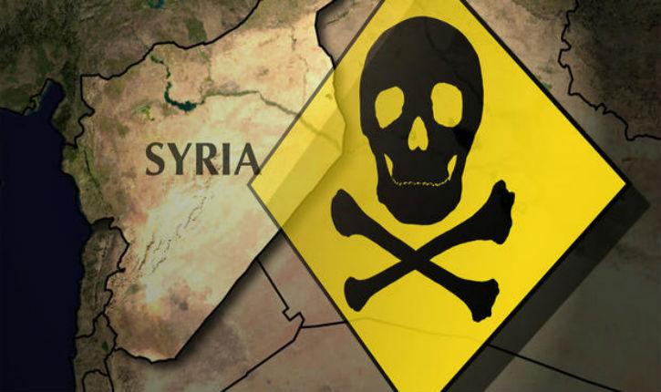 Images satellites:  les capacités chimiques de l'ennemi syrien réduites pour au moins une décennie.