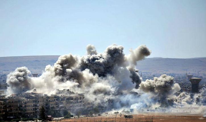 La Force aérienne arabe syrienne masacre les Palestiniens de Yarmouk…et aucune condamnation !