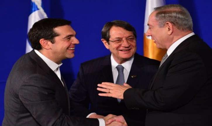 Les relations entre Israël, la Grèce et Chypre sont excellentes. Netanyahou s'est entretenu du futur gazoduc qui traversera les eaux territoriales de ces deux pays