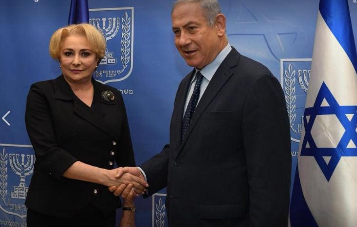 Netanyahou salue les efforts de la Roumanie qui souhaite transférer son ambassade à Jérusalem
