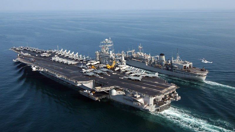 Une coalition militaire dirigée par les Etats-Unis se prépare contre l'Iran
