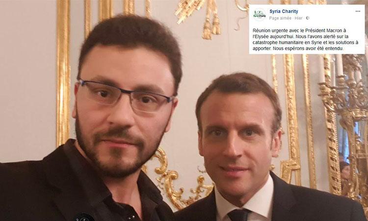 Syrie: Macron place ses pions musulmans pour récupérer la Syrie via de «l'humanitaire»