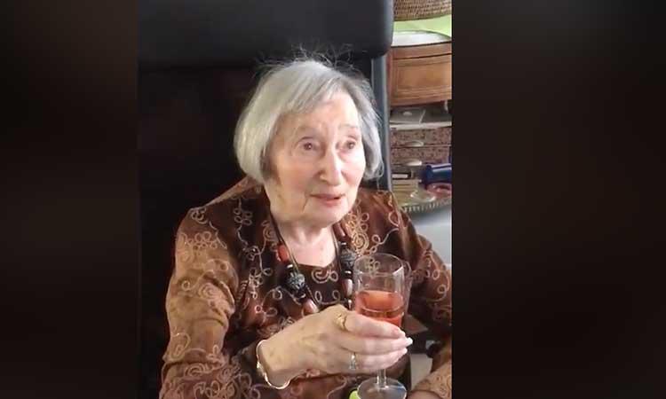 [Video] Une des dernières vidéos de Mireille Knoll, avant son assassinat, à la vieille des fêtes de Pâques émeut internet