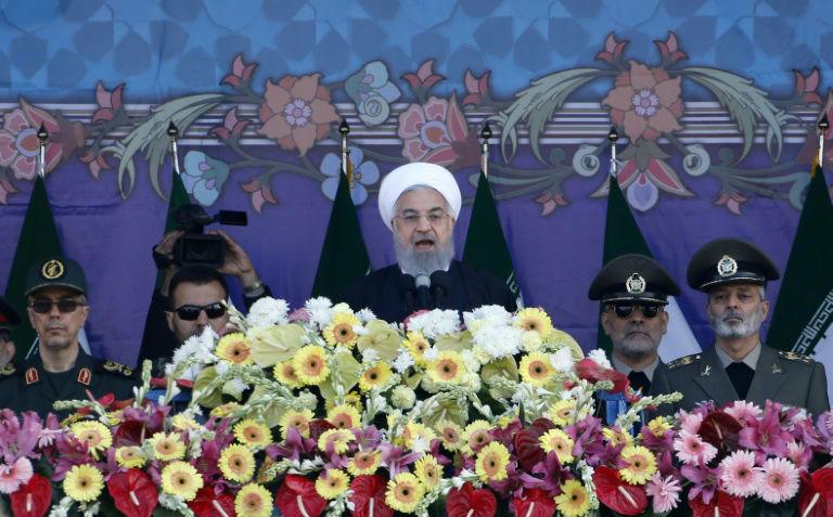 Iran: Rohani menace Trump en cas de sortie de l'accord nucléaire