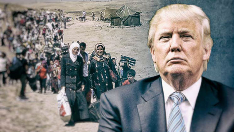 Les Etats-Unis recevront en 2018 le plus faible nombre de réfugiés en 4 décennies. Les réfugiés musulmans baisseront de 85%