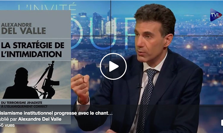 [Video] Alexandre Del Valle: «les gens sont de braves brebis qui attendent l'égorgement pour allumer des bougies»