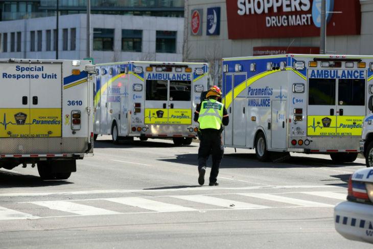 Attentat à la voiture bélier à Toronto : un «acte délibéré», 10 morts selon un dernier bilan