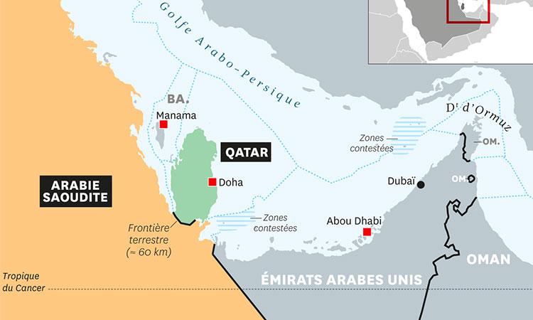 L'Arabie Saoudite va transformer le Qatar en îleen dynamitant la côte