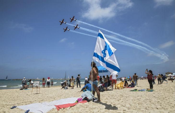 71ème anniversaire de l'Indépendance d'Israël : la patrouille aérienne survolera le sud en signe de solidarité avec les habitants