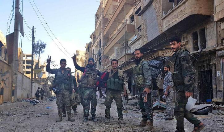 A l'occasion du Ramadan, les  groupes islamistes du sud de la Syrie se préparent à s'entretuer