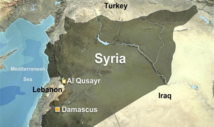 Nouvelle attaque aux missiles de Tsahal, dans l'ouest de la Syrie à Qusseir, contre le Hezbollah