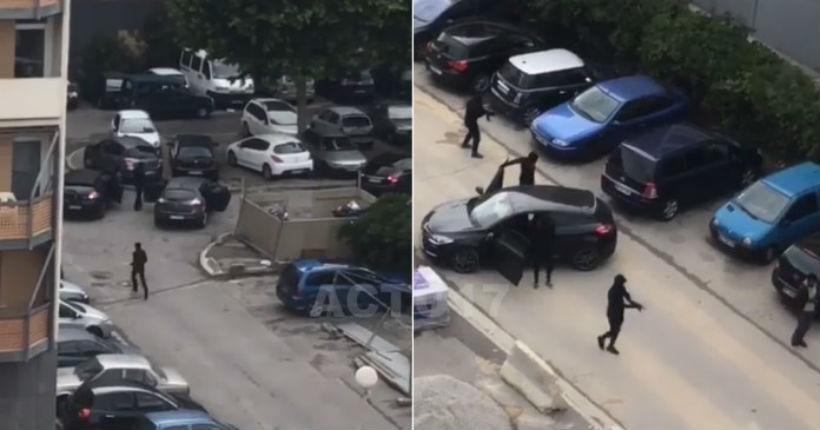 Commando cagoulé à Marseille : scène de guerre dans la cité de la Busserine (VIDEO CHOC)