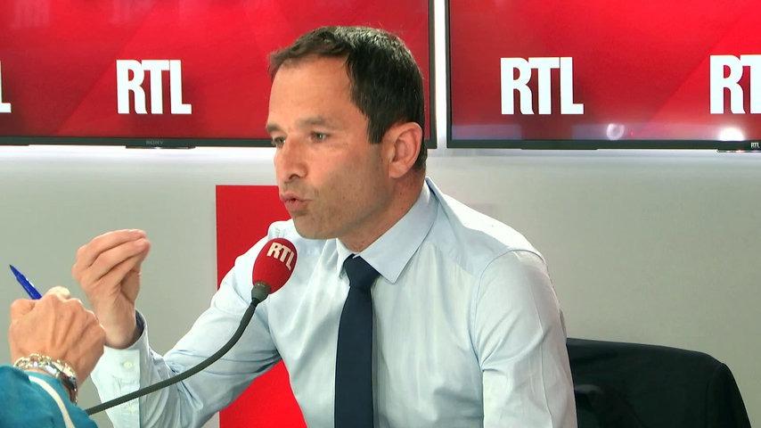 A propos de Gaza, Benoît Hamon sur RTL regrette que «les morts ne sont que d'un seul côté»… (Vidéo)
