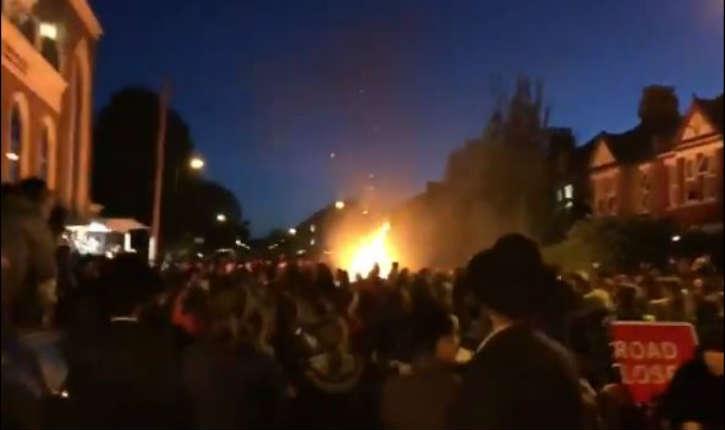 [Vidéo] Londres : explosion lors de Lag B'Omer, une trentaine de blessés sont à déplorer