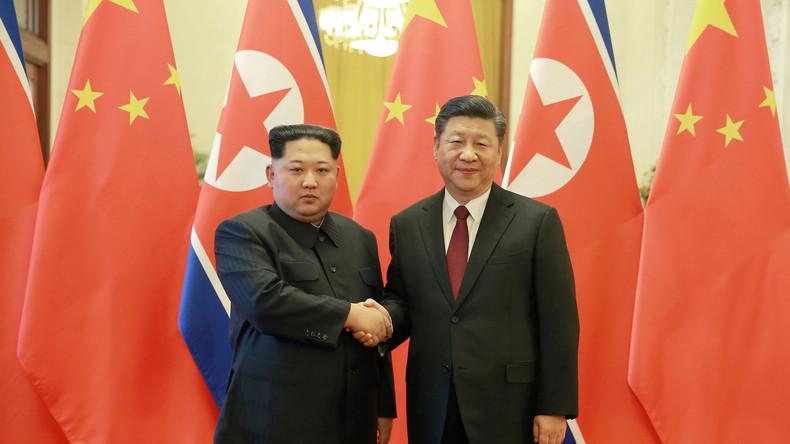 Lors d'une nouvelle visite en Chine, Kim Jong-un assure que «la dénucléarisation est réalisable»