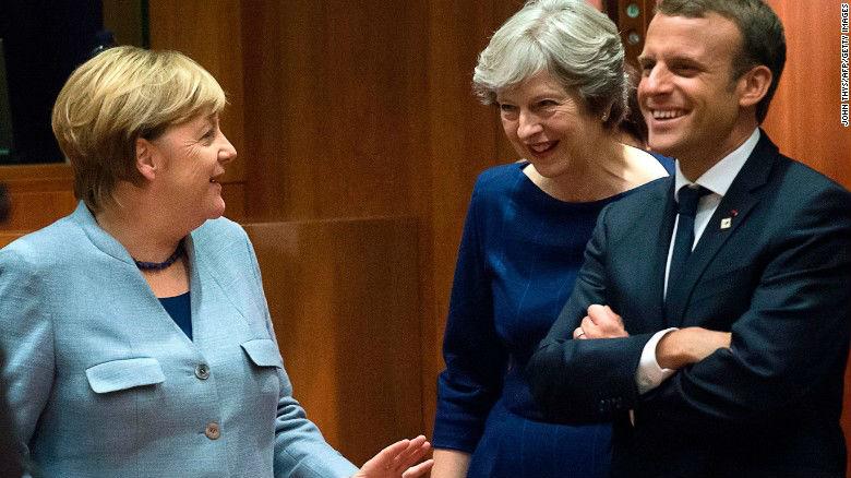 Accord avec l'Iran : Macron, Merkel, May, Mogherini, la brochette indigeste des dhimmi d'un continent épuisé et amoral