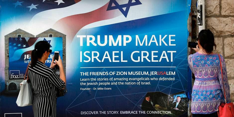 Jérusalem: derniers préparatifs, J-1 avant l'ouverture de l'ambassade américaine