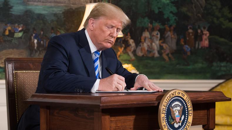 Accord iranien: Les pathétiques condamnations des politiques français qui préfèrent soutenir la dictature islamiste iranienne et sa future bombe atomique plutôt que la décision courageuse de Trump