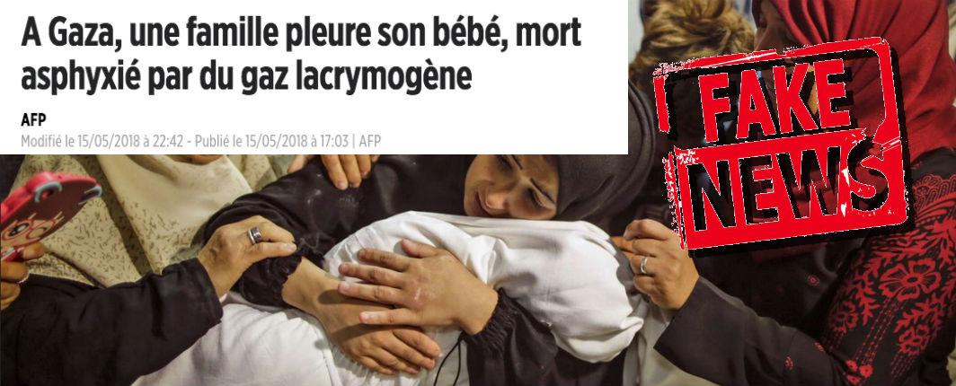 Fake news : L'AFP diffuse la propagande du Hamas sur la prétendue mort d'un bébé lors des violences à Gaza. Associated Press et diverses sources démentent formellement | Europe Israël news
