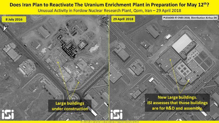 Un rapport de l'ISIS démontre que l'Iran était en train de construire secrètement cinq têtes nucléaires