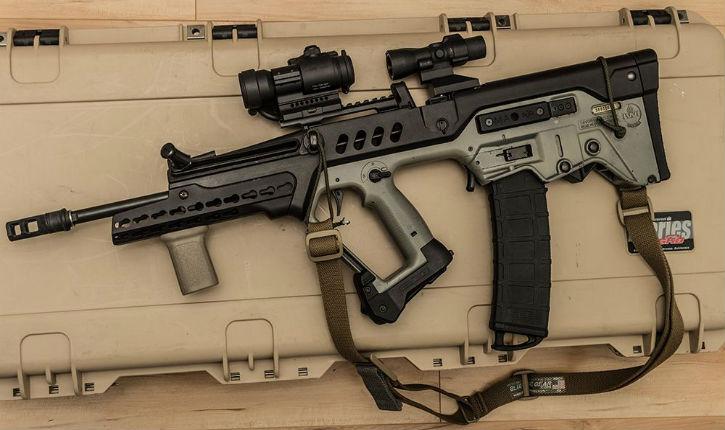 Les nouveaux fusils israéliens TAVOR à Eurosatory, salon international de Défense et de Sécurité