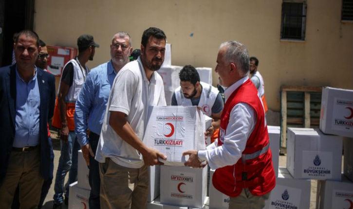 La Turquie islamiste distribue des aides alimentaires en Algérie, au Sénégal et en Éthiopie
