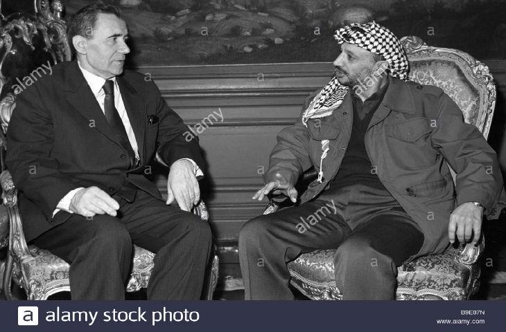 L'OLP, Arafat et Abbas furent des créations du KGB. Depuis, le discours «politiquement correct» pro-palestinien en Europe a repris toute la propagande mensongère du KGB