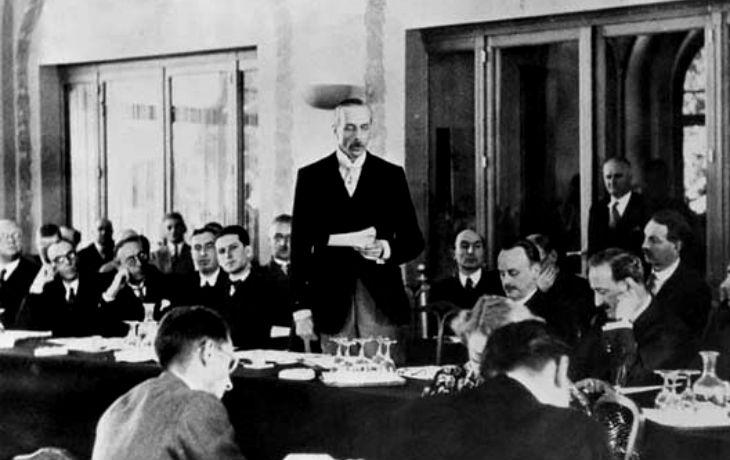 La conférence d'Evian:«La Honte absolue». Juillet 1938