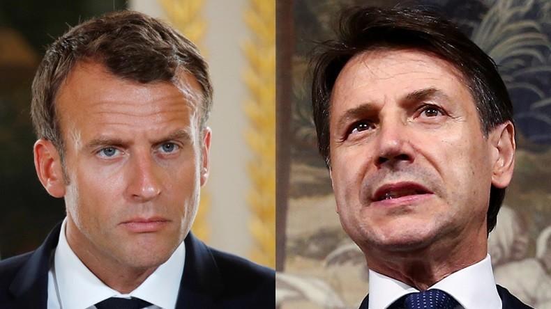 Bateau de migrants refoulé : Rome refuse les leçons de Macron «Emmanuel, si tu as le cœur aussi gros que tu le dis, demain nous te donnerons les 9 000 migrants»