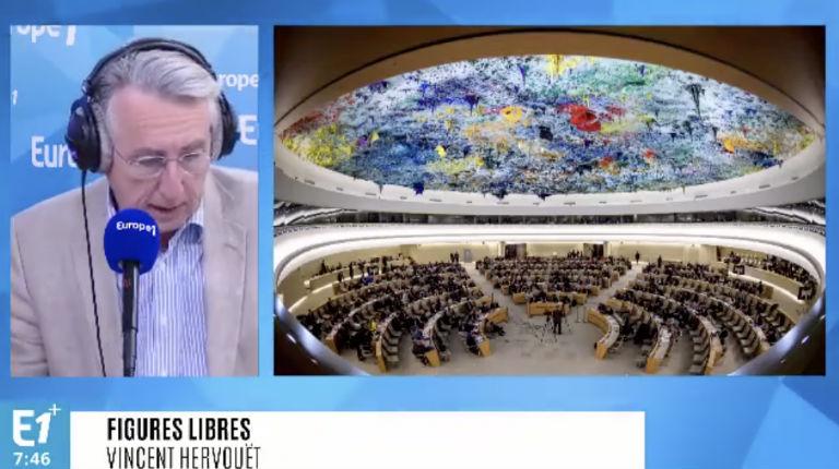 Europe 1 dévoile que le Conseil des Droits de l'Homme est un repaire de dictatures et qu'Israël est injustement condamné (Vidéo)