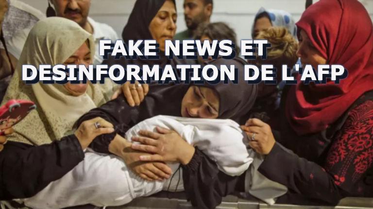 Faux décès d'un bébé à Gaza: La famille avait été payée pour mentir. L'AFP directement impliquée dans la diffusion de ce mensonge du Hamas