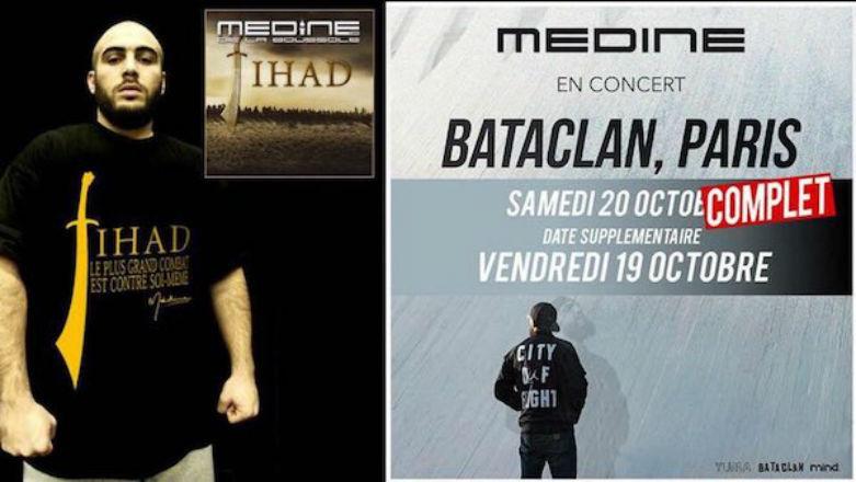 Concert de Médine au Bataclan: incitation à la haine et un appel à la violence dans les chansons, un avocat des victimes demande une enquête