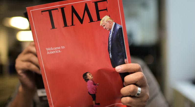 Fake news et propagande pro-migrant : La petite fille en une du Time n'a jamais été séparée de sa famille
