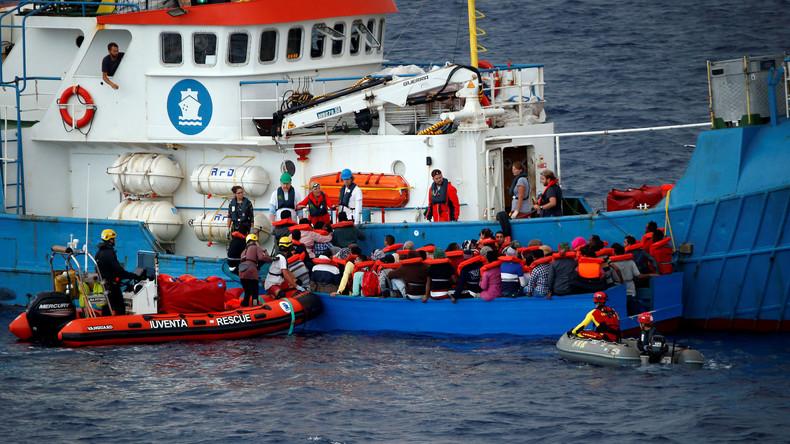 Les ONG pro-migrants, financées par Soros, continuent d'aller chercher les migrants : SOS Méditerranée ramène 700 migrants en Europe en un week-end