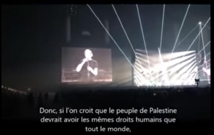 En plein concert à Nanterre, l'antisémite Roger Waters appelle au boycott d'Israël (Vidéo)