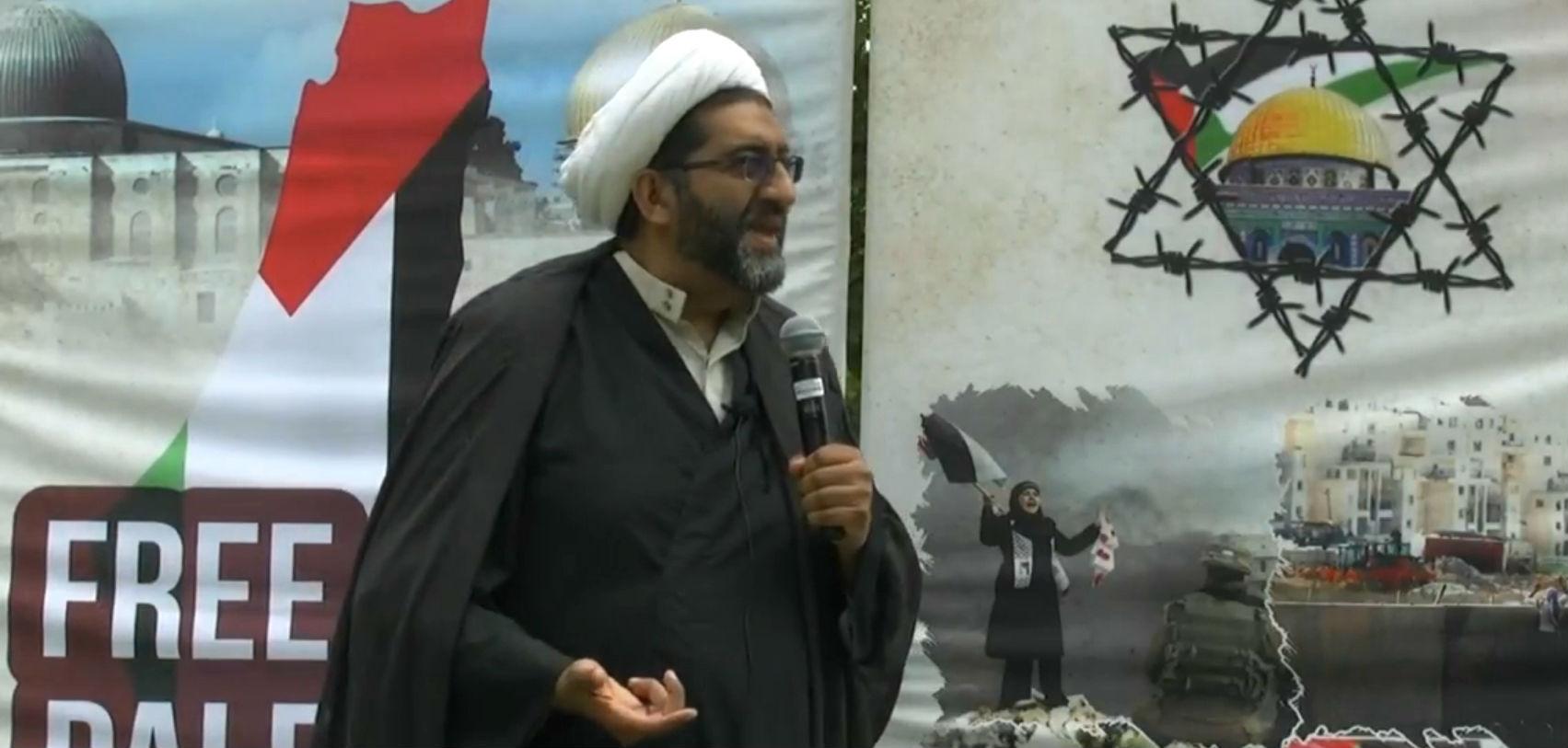 Toronto : L'imam Shafiq Hudda promet «l'éradication d'Israël et de l'empire américain»