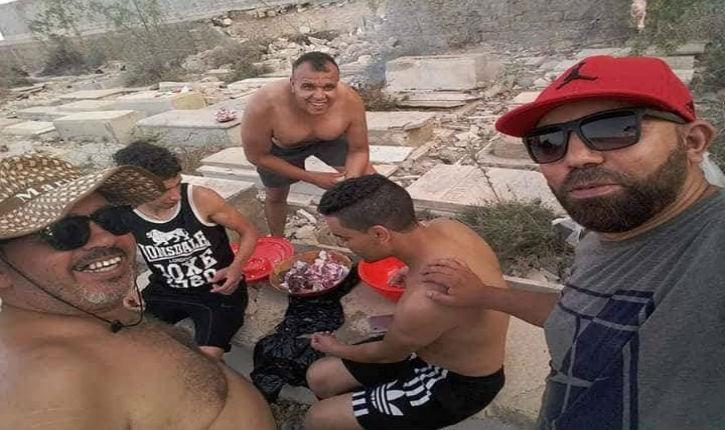 Antisémitisme musulman en Tunisie : un Barbecue dans un cimetière juif de Sousse