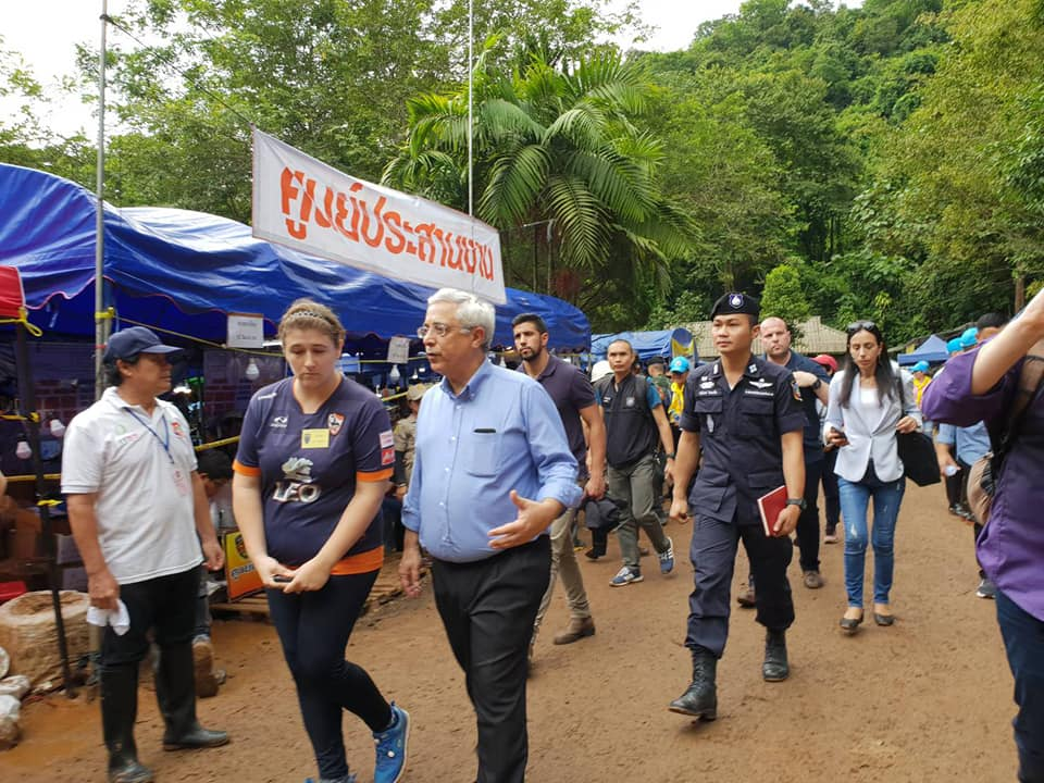 l'Ambassadeur d'Israël en Thaïlande Meir Shlomo