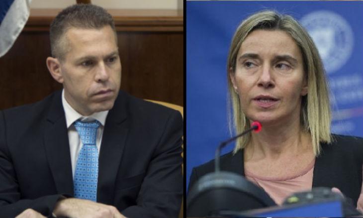 Le ministre israélien Gilad Erdan fustige Federica Mogherini de l'UE et réaffirme que «les fonds des contribuables européens vont à des ONG liées au BDS et au terrorisme»