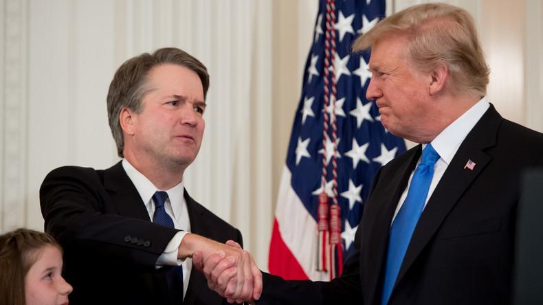 Donald Trump nomme le conservateur Brett Kavanaugh à la Cour suprême des Etats-Unis (Vidéo)