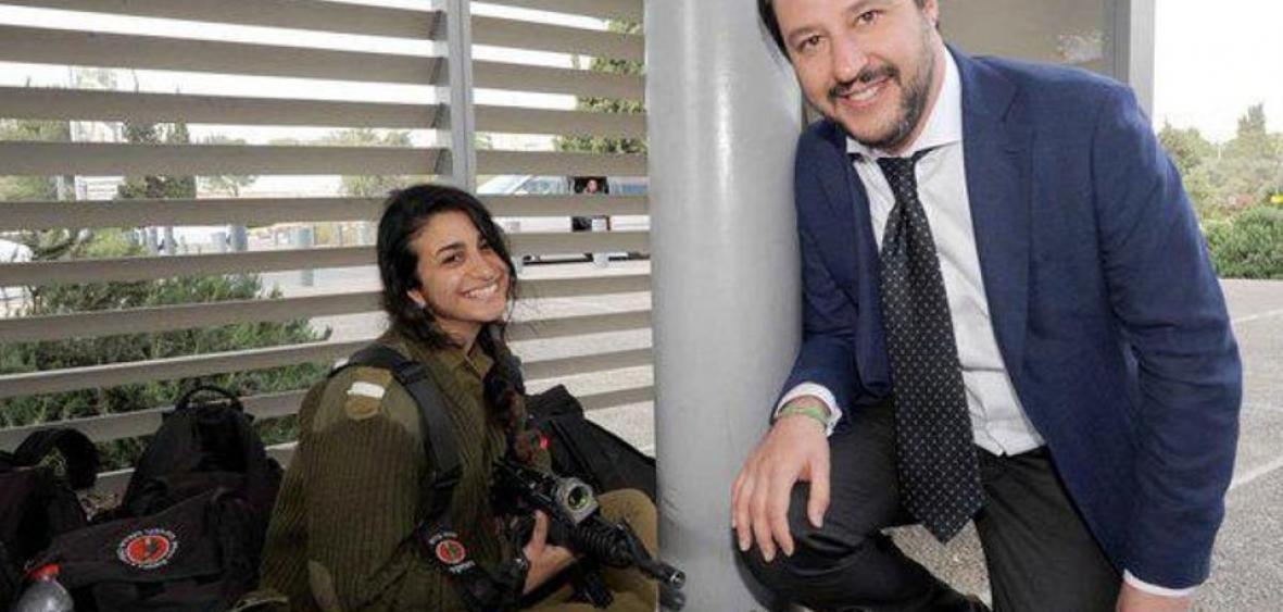 Le ministre italien Matteo Salvini: «Je suis en faveur de la reconnaissance de Jérusalem comme capitale d'Israël»