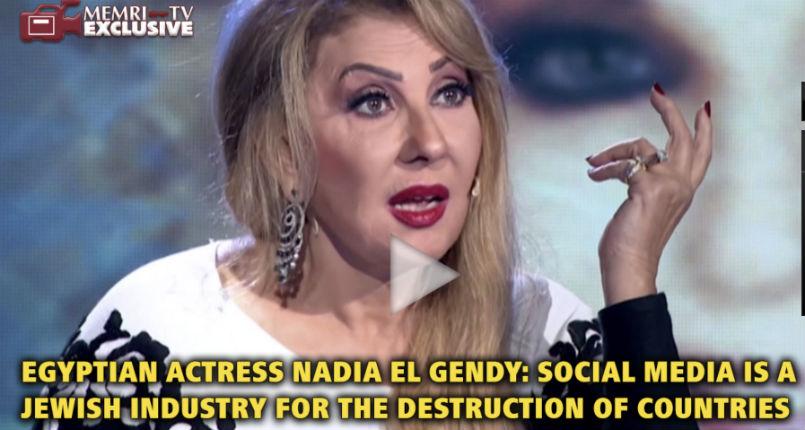 Antisémitisme ordinaire à la TV égyptienne : «Les réseaux sociaux sont une industrie juive visant à détruire les pays» (Vidéo)