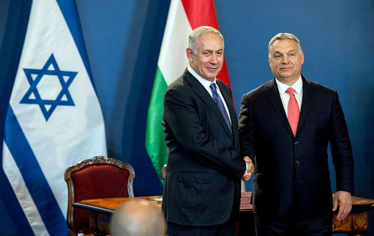 Le Premier ministre hongrois Viktor Orban est arrivé en Israël